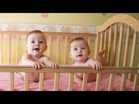 Funny Talking Twin Babies Compilation (2017)