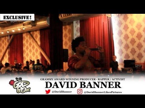 David Banner - The God Box Lecture Tour (Chicago @ The Promontory)