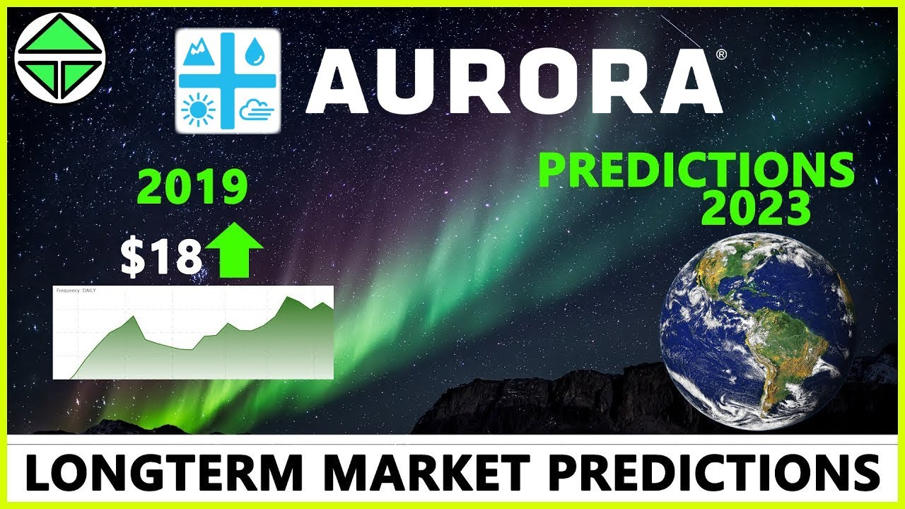 Aurora Cannabis stock prices for 2019 and 2023 predictions