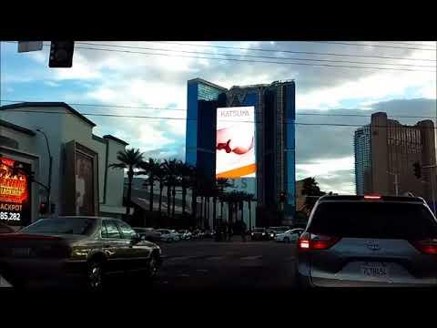 SLS sign, Las Vegas and Bonanza gift shop