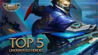 Mobile Legends: Top 5 Underrated Heroes