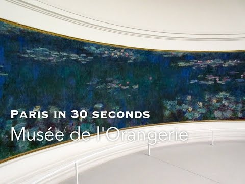 Musee de l'Orangerie - Paris in 30 seconds