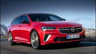 2020 Opel Insignia GSi Sports Tourer дизайн
