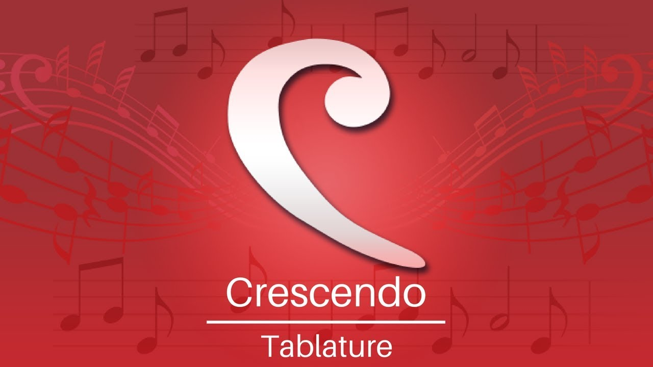Download Crescendo Music Notation Tutorial | Tablature