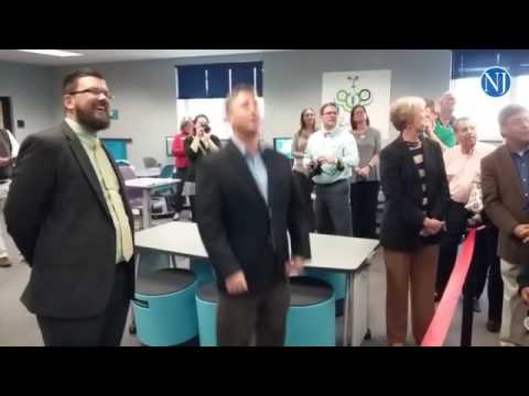 Buddy Taylor Middle School cuts the ribbon on its new agronomy lab