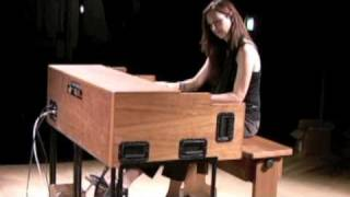 Barbara Dennerlein soundcheck