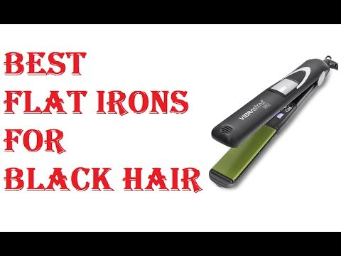 Best Flat Irons For Black Hair 2021