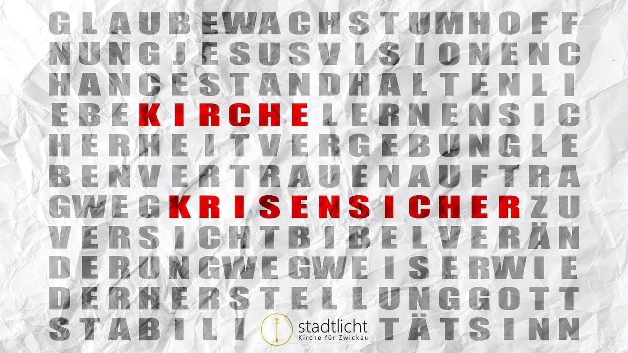 28.02.2021 Live-Stream Stadtlicht Kirche für Zwickau - YouTube