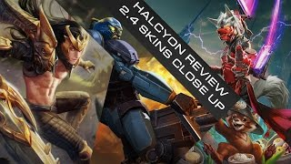 [ENG] HALCYON REVIEW New Skin Vainglory Update 2.4