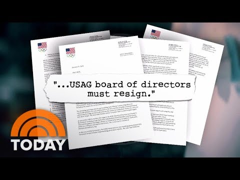 US Olympic Committee: Entire Board Of USA Gymnastics Must Step Down | TODAY