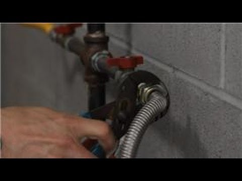 & Gas Dryer Repair : How to Stop a Leaking Gas Hose on a Dryer - YouTube