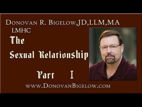 Object Relations Theory & Sexual Development | The Sexual Relationship Part I