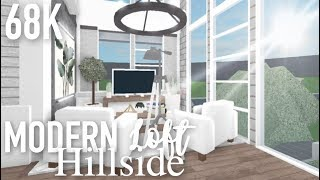 Roblox | Bloxburg | Modern Hillside Loft