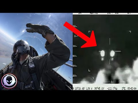 UFO LEAK: Mexican Airforce Pilots Track Mystery Object