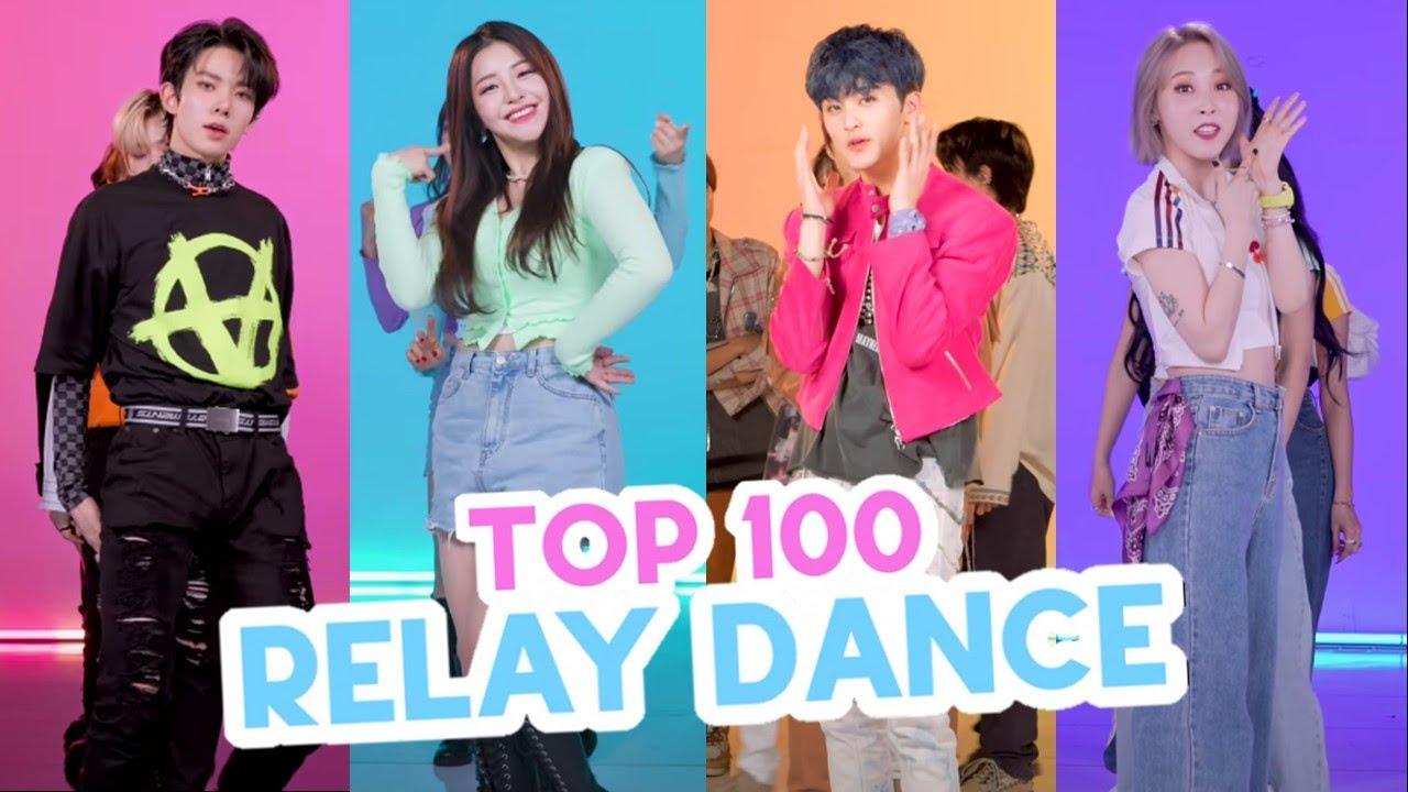 [TOP 100] Most Viewed K-Pop Relay Dances