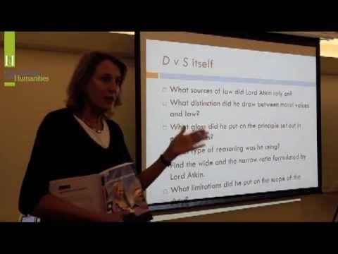 Professor Barbara McDonald: The Common Law & Legal Reasoning