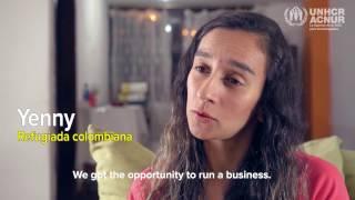Ecuador: Yenny reconstruye su vida después de huir de la extorsión