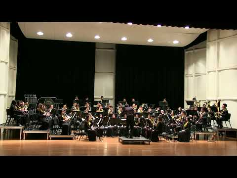 """HBA 2017 Winter Concert - """"Finale from Symphony in F Minor"""" by Hawaii Baptist Academy  Wind Ensemble"""