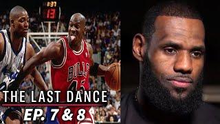 "NBA Players REACT to ""The Last Dance"" (Ep. 7 & 8)"