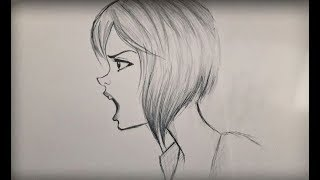 ᴴᴰ How To Draw Angry Mad Character (Slow Version)