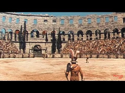 FALL OF ROME - gladiators in the arena