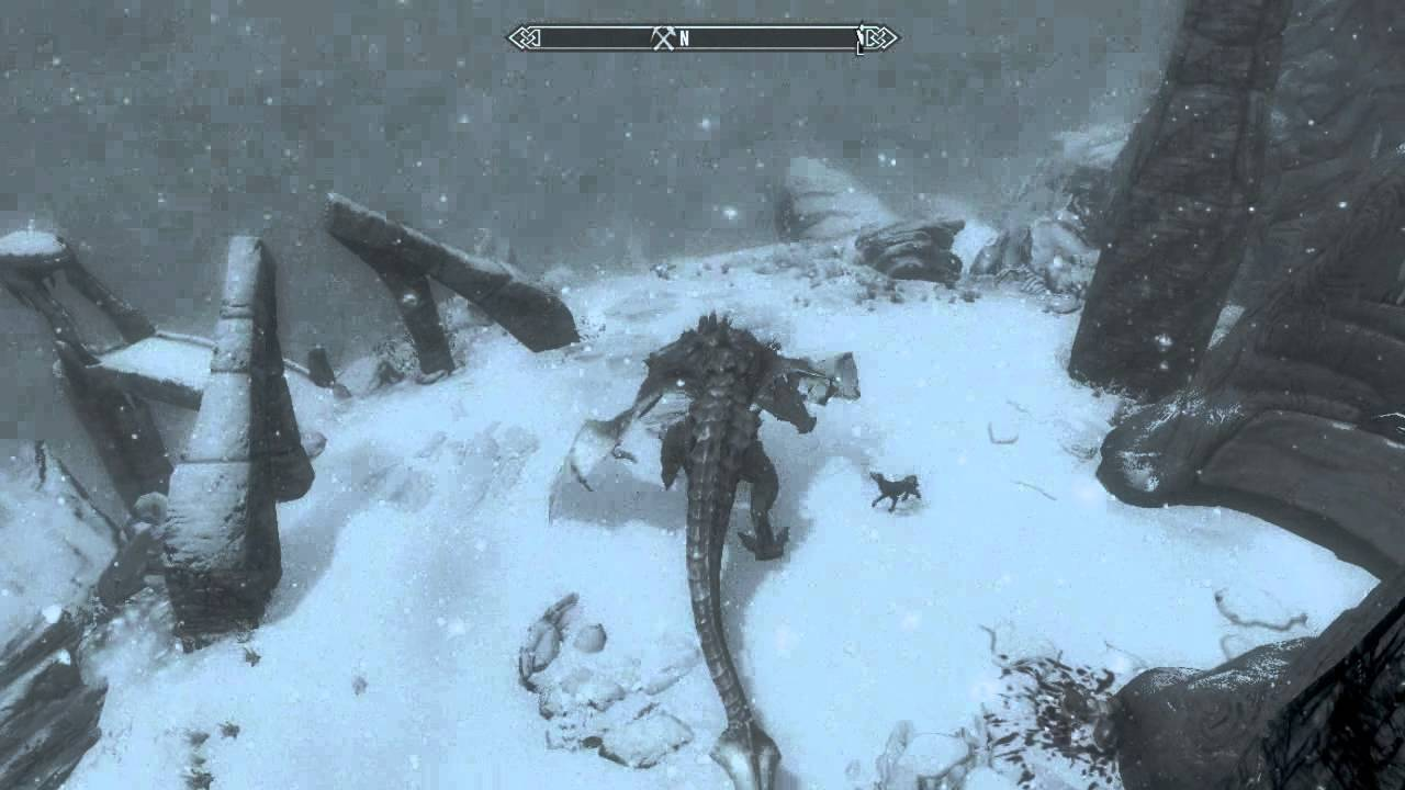 skyrim mount a like a without flying