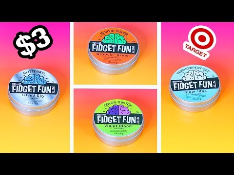 $3 Target Putty comes 4 Variety Packages in the dollar section of Target