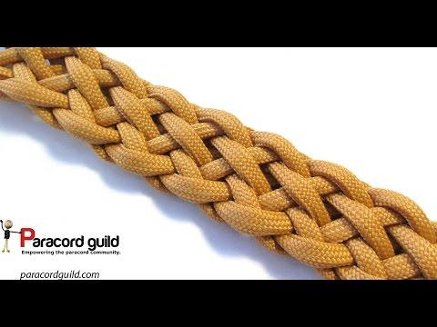 The Patriot braid- Trenza Patria of 9 strands