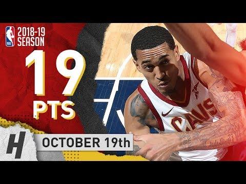 Jordan Clarkson Full Highlights Cavs vs Timberwolves 2018.10.19 - 19 Points off the Bench