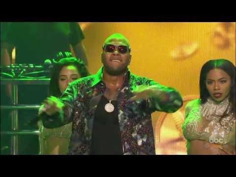 Flo Rida - Zillionaire (Live) on New Year's Rockin' Eve 2017