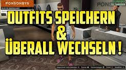 GTA 5 Online I Outfits speichern & überall wechseln ! - Mega geil !