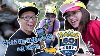 Event GO Fest 2020 choáng ngợp và vui đến mức này sao Pokemon GO vlog