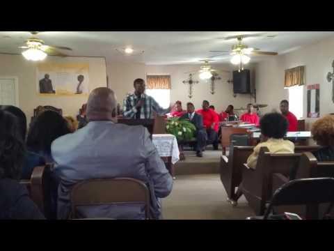 "Bro. Chris Heath Speaking @ ""I Praise Him Because"" Program on Sunday Oct. 9th.."