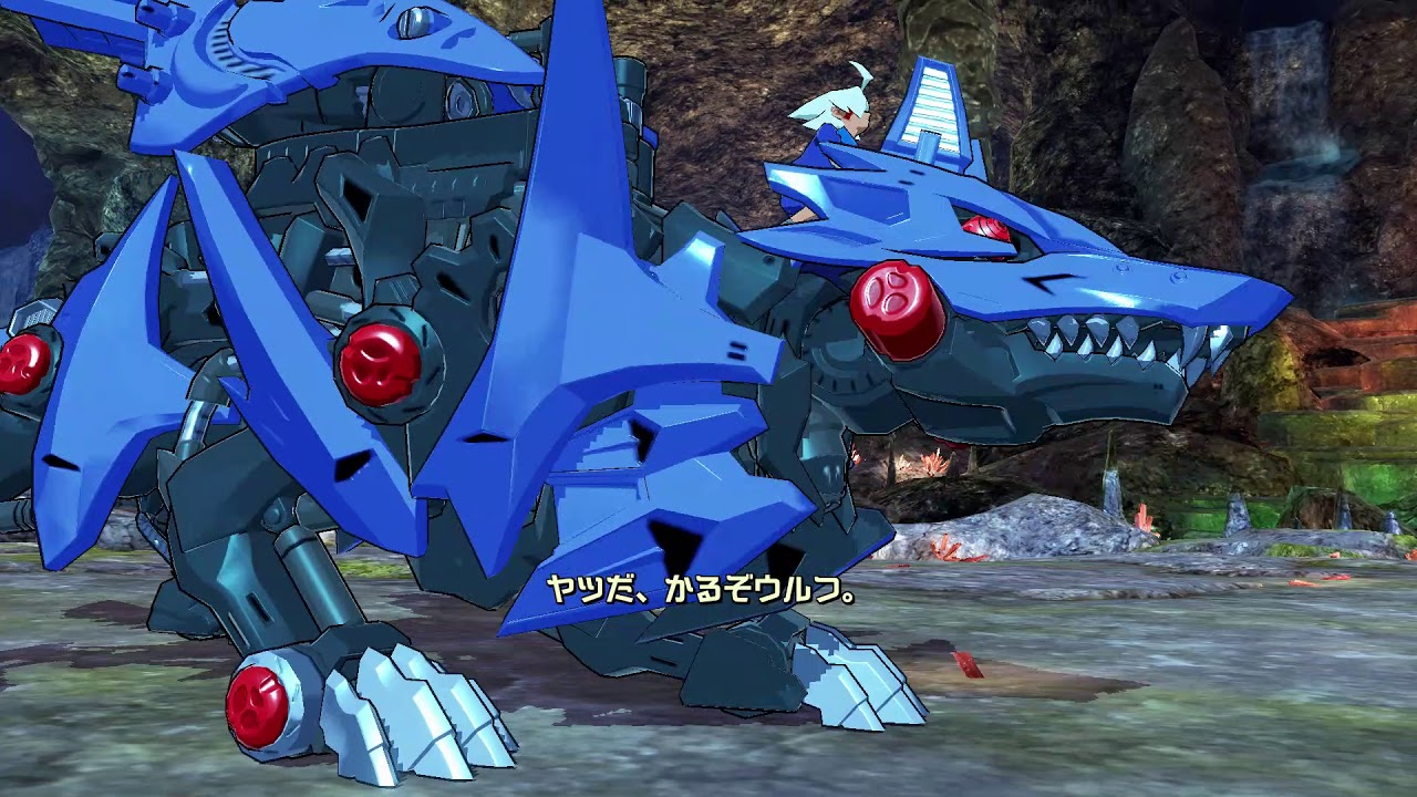 Zoids: Wild King Blast Hunter Wolf + Hunter Wolf Bouncer