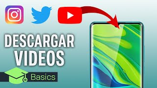 CÓMO DESCARGAR VÍDEOS de YouTube, Instagram, Facebook, Twitter o TikTok en tu MÓVIL