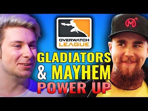Gladiators & Mayhem Power Up & Seoul Fall Down [Overwatch League News & Highlights]