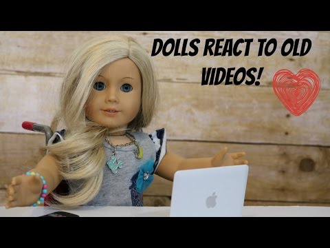 Dolls React To My Old AG Videos!