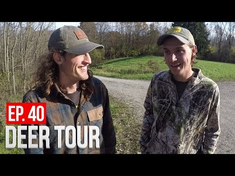 OHIO PUBLIC LAND, We Found Some Bucks! - DEER TOUR E40