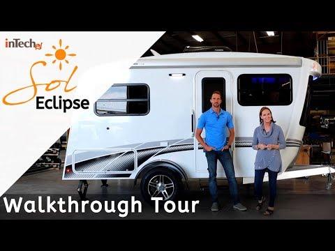 NEW Sol Eclipse Trailer By InTech RV Walkthrough Tour