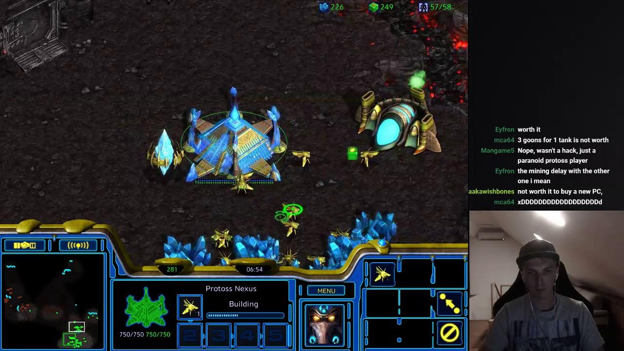 23 FPVOD Nal_Draco Protoss vs Terran Starcraft Remastered (vs Kare ) 2