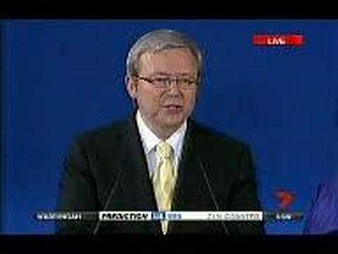 Kevin Rudd speech - part 1 of 3