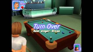 Midnight Pool 3D-Ziggy gets to Rack
