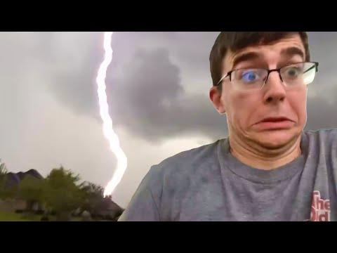 Lightning Strikes a Little Too Close
