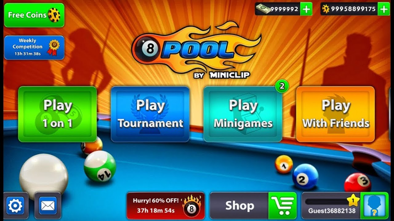8 Ball Pool Game Unlimited Coins 100 Working Cheat Youtube