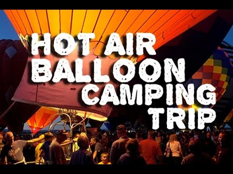 Epic Hot Air Ballon Adventure - Albuquerque Balloon Fiesta Adventure