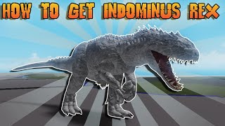 HOW TO GET INDOMINUS REX IN KAIJU WORLD! | Roblox Kaiju World!