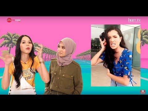 LimaLeTop! | Bila Ain Edruce & Nabila Razali Rap, Boleh Lawan Amelia Henderson Tak?
