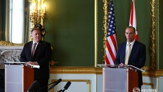 LIVE: U.S. Secretary of State Pompeo and UK Foreign Secretary Raab speak after bilateral meeting