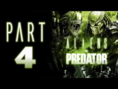 Aliens Vs. Predator (2010) - Let's Play - Part 4 -