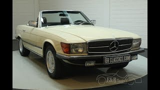 Mercedes-Benz 380 SL 1984-VIDEO- www.ERclassics.com